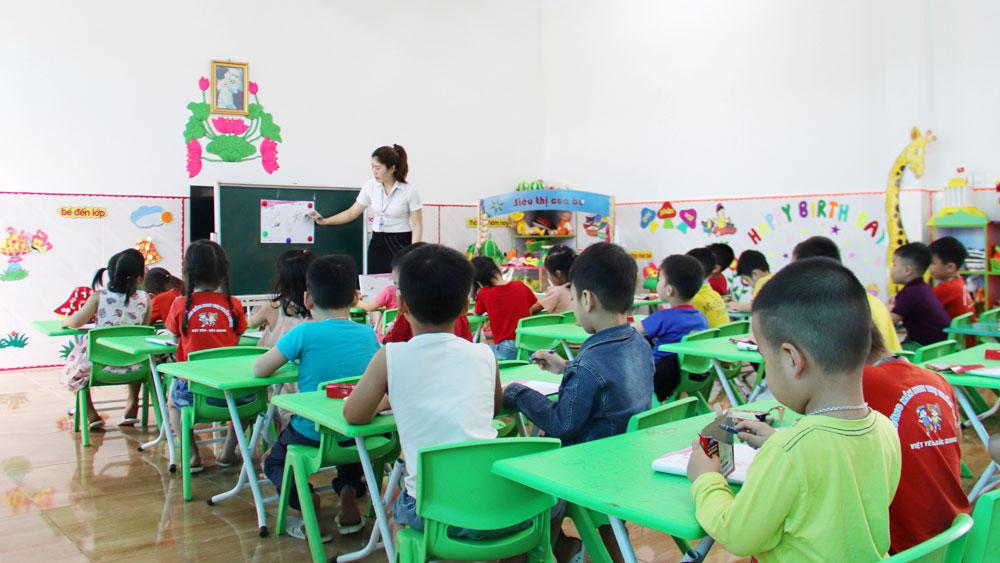 Bắc Giang, giáo dục, thăng hạng, xét lương