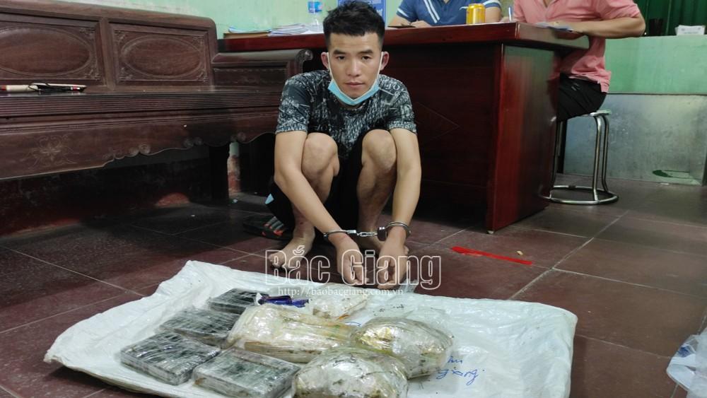 Bắc Giang,ma túy, Đèo Văn Xuân, số lượng lớn
