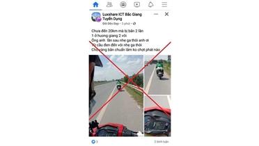 Bị phạt 5 triệu đồng vì xúc phạm cảnh sát giao thông trên Facebook