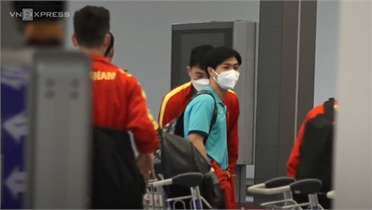 Đội tuyển Việt Nam đã về nước