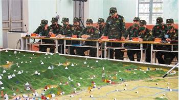 Lữ đoàn Xe tăng 203: Diễn tập cho lực lượng tác nghiệp ứng dụng công nghệ thông tin