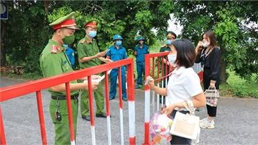 Bộ Công an tăng cường 391 cán bộ, chiến sĩ về các xã biên giới trọng điểm