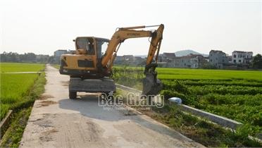 Việt Yên: Thêm 2 xã, thôn được công nhận nông thôn mới nâng cao, kiểu mẫu