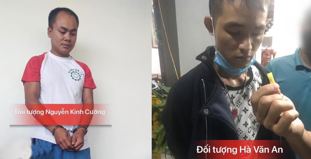 Công an huyện Lạng Giang bắt 2 vụ mua bán trái phép chất ma tuý