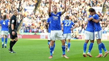 Leicester đè bẹp Man Utd
