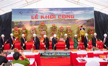 Khởi công dự án sân golf và nghỉ dưỡng Bắc Giang