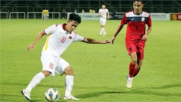 U23 Việt Nam thắng đậm trước vòng loại U23 châu Á