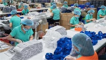 Xuất khẩu 16,63 triệu chiếc khẩu trang y tế trong tháng 9