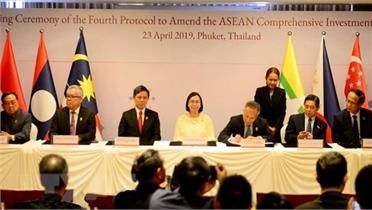 Chính phủ chính thức phê duyệt Hiệp định Thương mại Dịch vụ ASEAN