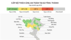 """Bắc Giang nằm trong số 13 tỉnh, thành phố đạt tiêu chí """"vùng xanh"""""""