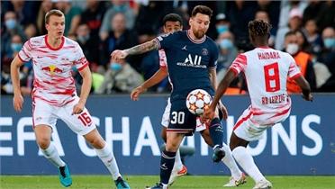 Messi giúp PSG thắng ngược ở Champions League
