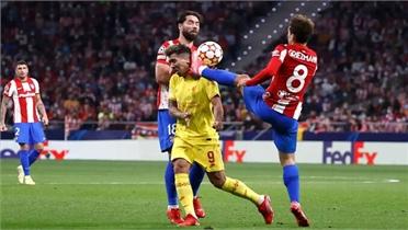 Atletico thua Liverpool khi Griezmann nhận thẻ đỏ
