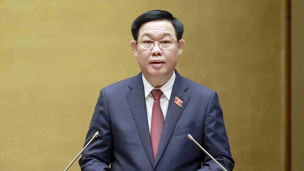 Phát biểu khai mạc kỳ họp thứ hai, Quốc hội khóa XV của Chủ tịch Quốc hội Vương Đình Huệ