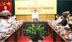 Chủ tịch UBND tỉnh Lê Ánh Dương chỉ đạo: Nắm bắt cơ hội, phấn đấu đạt mục tiêu tăng trưởng kinh tế