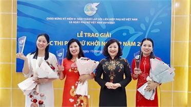 Chào mừng Ngày thành lập Hội LHPN Việt Nam 20/10: Bắc nhịp cầu cho phụ nữ khởi nghiệp