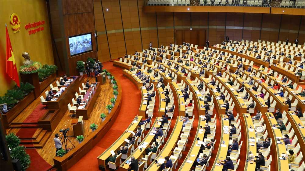 Trình nhiều nội dung trong ngày làm việc đầu tiên kỳ họp thứ hai, Quốc hội khóa XV