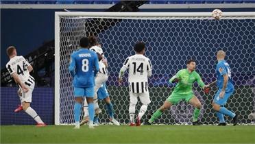 Juventus hạ chủ nhà Zenit tại Champions League