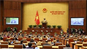 Hôm nay, Quốc hội thảo luận tại tổ về các vấn đề kinh tế- xã hội và 2 dự án Luật