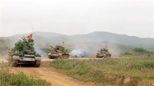 Lữ đoàn 203: Hăng say luyện tập, sẵn sàng cơ động chiến đấu