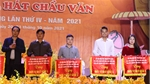40 prizes awarded to outstanding performaces at Bac Giang Van and Chau Van Singing Festival 2021