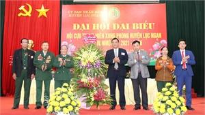 Ông Hoàng Xuân Cương được bầu lại làm Chủ tịch Hội Cựu TNXP huyện