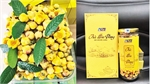 Yellow flower tea, OCOP product in Luc Nam district