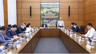 Hôm nay (23/10), Quốc hội thảo luận về công tác tư pháp và phòng, chống tham nhũng