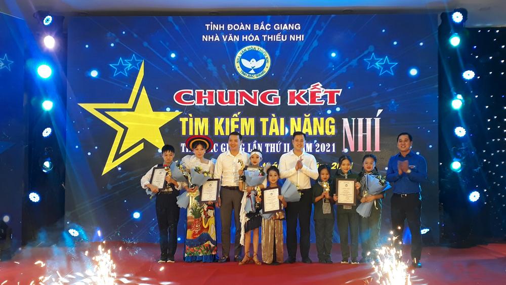 """Bắc Giang: Chung kết Cuộc thi """"Tìm kiếm tài năng nhí"""""""