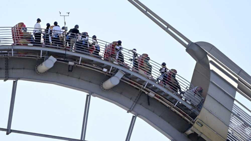 Nhật Bản: Tàu lượn mất điện, 35 người kẹt ở độ cao 43 m