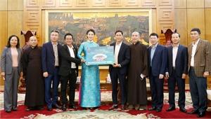 Tập đoàn Đầu tư Sài Gòn tài trợ xây dựng tam quan và chùa Trình thuộc quần thể chùa Vĩnh Nghiêm