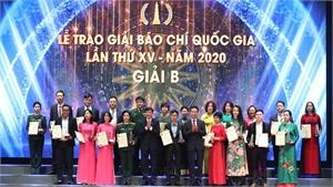 Lễ trao Giải Báo chí Quốc gia lần thứ XV - năm 2020