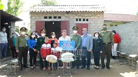 Khối thi đua các cơ quan Nội chính Bắc Giang tham gia tình nguyện tại Sơn Động