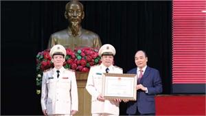 Chủ tịch nước Nguyễn Xuân Phúc dự kỷ niệm 75 năm Ngày truyền thống Học viện ANND