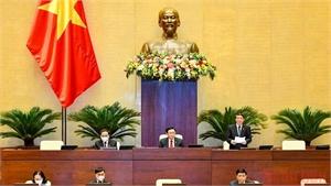 Thông cáo số 6, kỳ họp thứ hai, Quốc hội khóa XV