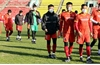 U23 Việt Nam chỉ được đi bộ làm quen sân đấu
