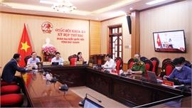 Đoàn ĐBQH tỉnh thảo luận về nội dung dự thảo Luật Cảnh sát cơ động