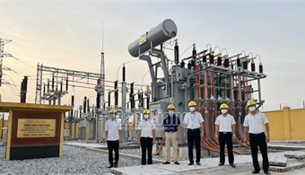 Over 287 billion VND invested to build 110kV substation and wire in Son Dong